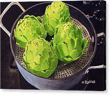 Still Life No. 6 Canvas Print by Mike Robles