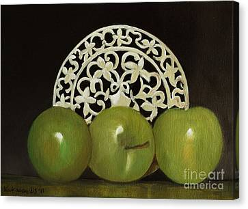 Still Life No-7 Canvas Print by Kostas Koutsoukanidis