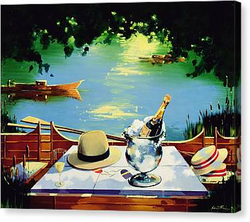Still Life Regatta Canvas Print by Andrew Hewkin