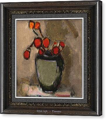 Still Life Stl2 Canvas Print by Pemaro
