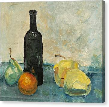 Still Life - Study Canvas Print