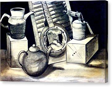 Old Shed Canvas Print - Still Life by Susan Robinson