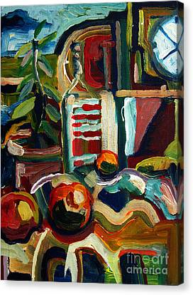 Still Life With Oranges Archived Canvas Print by Charlie Spear