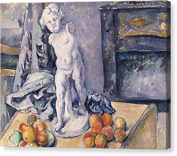Still Life With Statuette Canvas Print