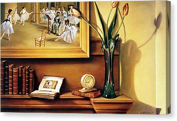 Still Life With Tulips Canvas Print by Patrick Anthony Pierson