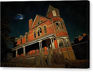 Still Of The Night Canvas Print by L Wright