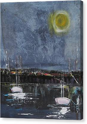 Still Of The Night  Canvas Print by Nicole Nadeau