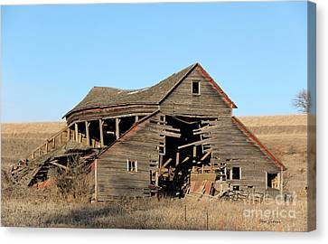 Still Standing But Not Too Long Canvas Print