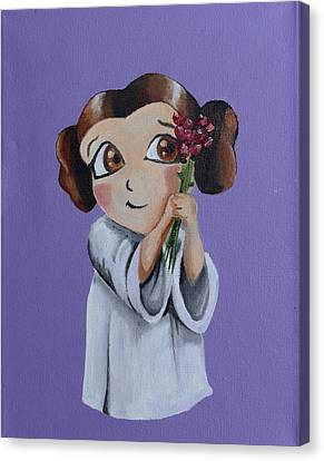 Still The Princess Canvas Print by Chris  Leon