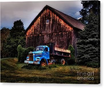 Still Truckin Canvas Print by Susan Candelario