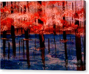 Still Waters Canvas Print by Lori  Lovetere