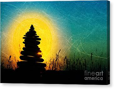Stillness And Movement Canvas Print by Tim Gainey
