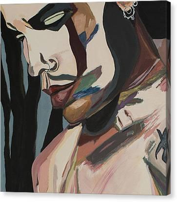 Stillness Of Heart Portrait Crop Canvas Print by Christel  Roelandt