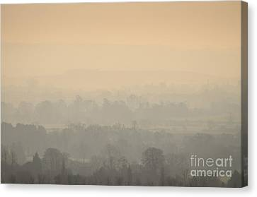 Stillness Over The Oxfordshire Countryside Canvas Print by OUAP Photography