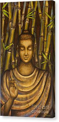 Stillness Speaks Canvas Print by Yuliya Glavnaya