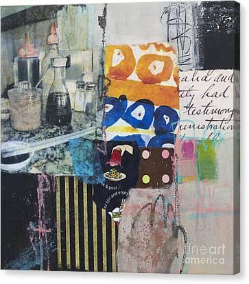 Stir And Enjoy Canvas Print by Elena Nosyreva