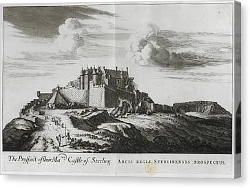Stirling Castle Canvas Print by British Library