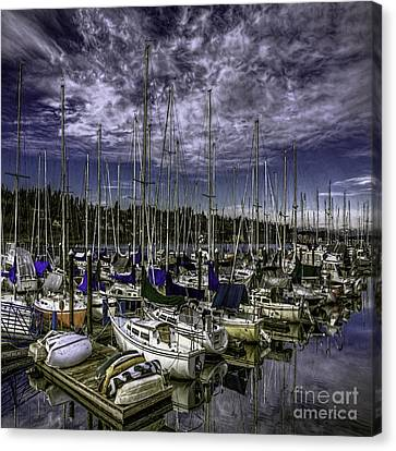 Canvas Print featuring the photograph Stirring The Sky by Jean OKeeffe Macro Abundance Art