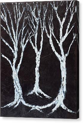 Pallet Knife Canvas Print - Stirrings by William Killen