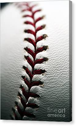 Stitches I Canvas Print by John Rizzuto