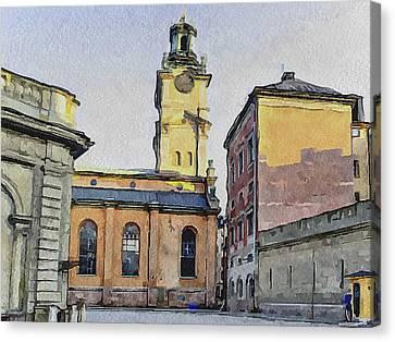 Stockholm 1 Canvas Print