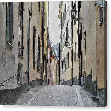 Stockholm 13 Canvas Print