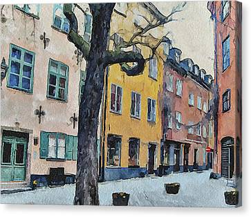 Stockholm 14 Canvas Print