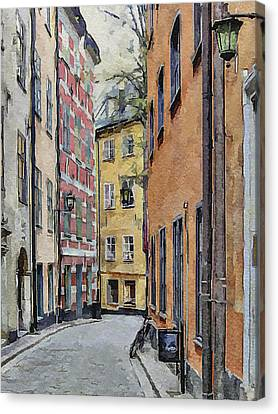 Stockholm 15 Canvas Print by Yury Malkov