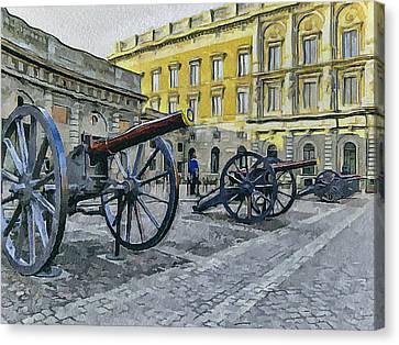 Stockholm 2 Canvas Print