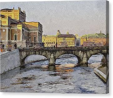 Stockholm 4 Canvas Print