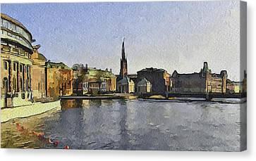 Stockholm 7 Canvas Print