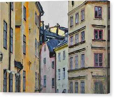 Stockholm 8 Canvas Print