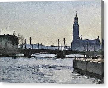 Stockholm 9 Canvas Print