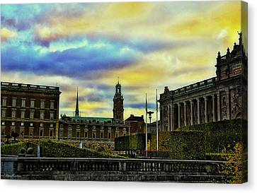 Stockholm II Canvas Print by Ramon Martinez