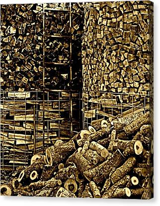 Stockpile  Canvas Print by Chris Berry