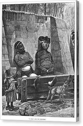 Stocks, 1886 Canvas Print by Granger