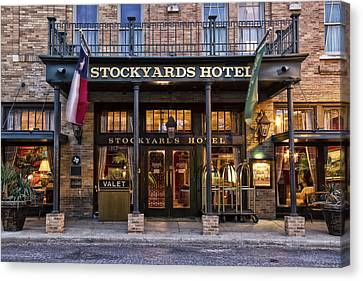 Stockyards Hotel Canvas Print