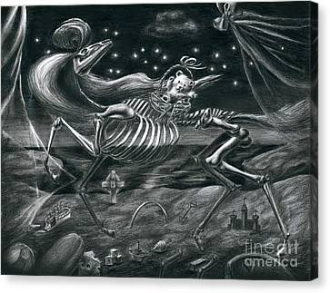 Stolen Childhood Canvas Print