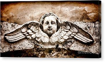 Stone Angel Canvas Print by Olivier Le Queinec