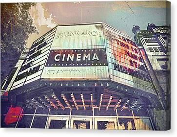 Stone Arch Cinema Canvas Print by Susan Stone