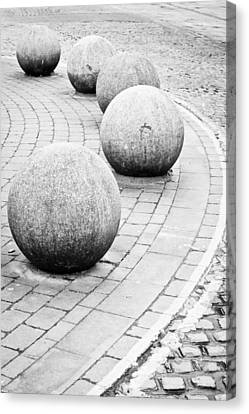 Stone Balls Canvas Print by Tom Gowanlock