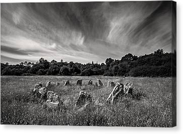 Stone Circle Ireland Canvas Print by Pierre Leclerc Photography