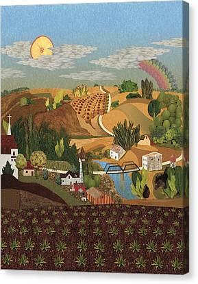 Stone City Ia Canvas Print by Julia and David Bowman