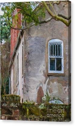 Stone Cottage Canvas Print by Dale Powell
