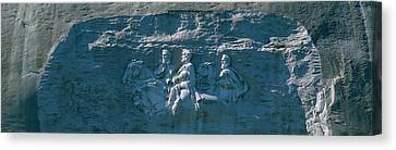 Stone Mountain Confederate Memorial Canvas Print by Panoramic Images