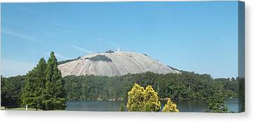 Stone Mountain I Canvas Print by James Potts