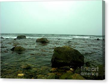 Stone Ocean Canvas Print