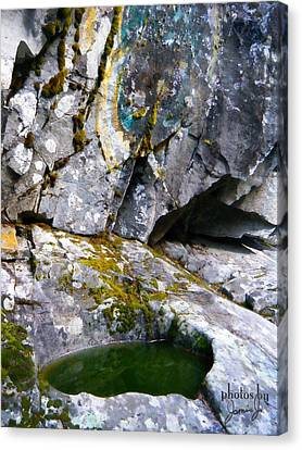 Stone Pool Canvas Print