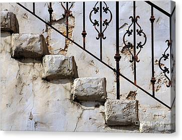Stone Stairs Canvas Print by Dan Holm