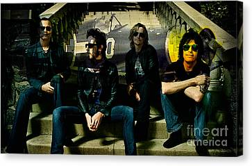 Stone Temple Pilots Canvas Print by Marvin Blaine